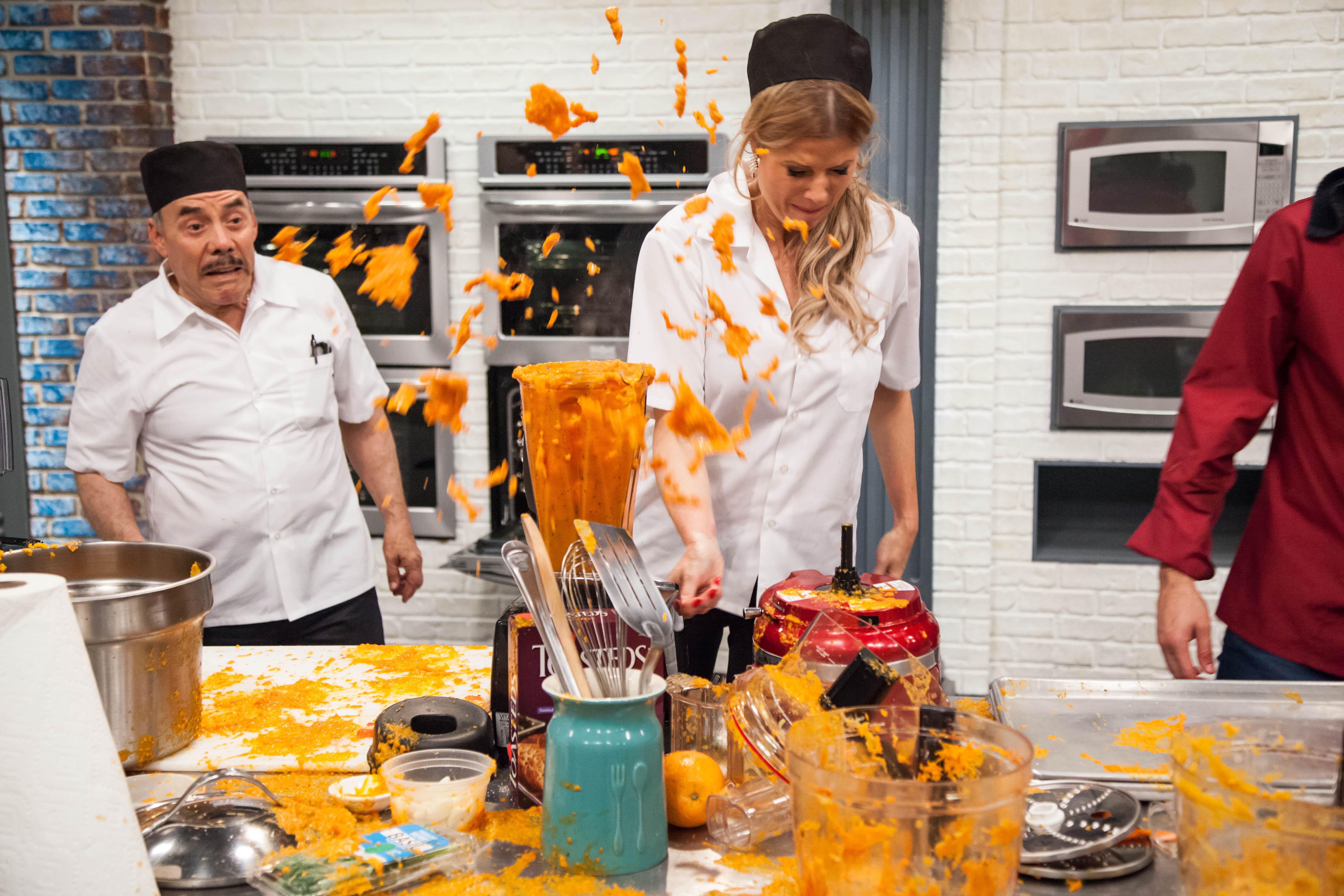 Sissi fleitas en top chef estrellas telemundo - Cocinas chef ...