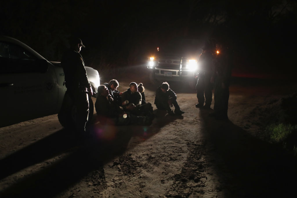 US Border Agents Pursue Undocumented Immigrants And Smugglers In Texas' Rio Grande Valley
