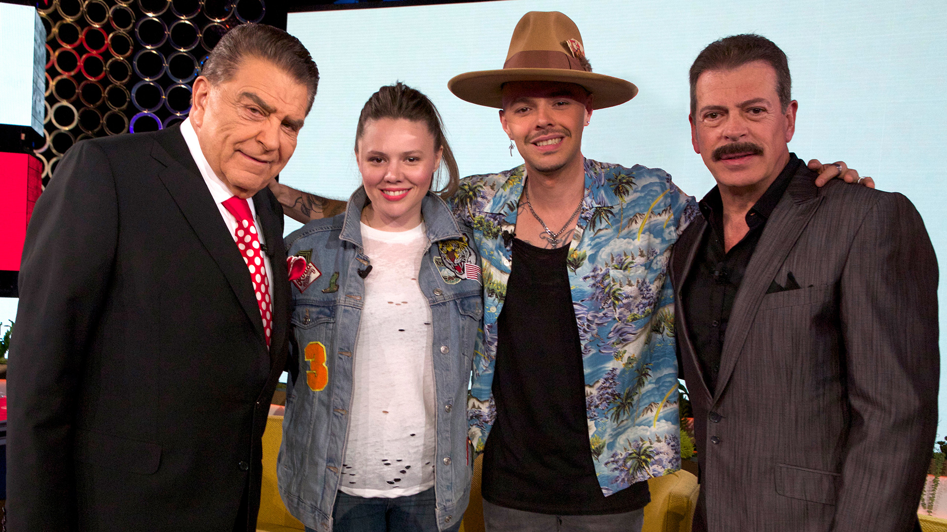 Don Francisco, Jesse y Joy y Sergio Goyri