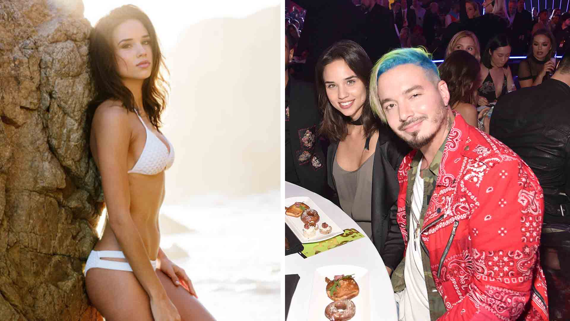 Who Was The Girl Sitting Next To J Balvin At The Mtv Movie Tv Awards 2017 Photos