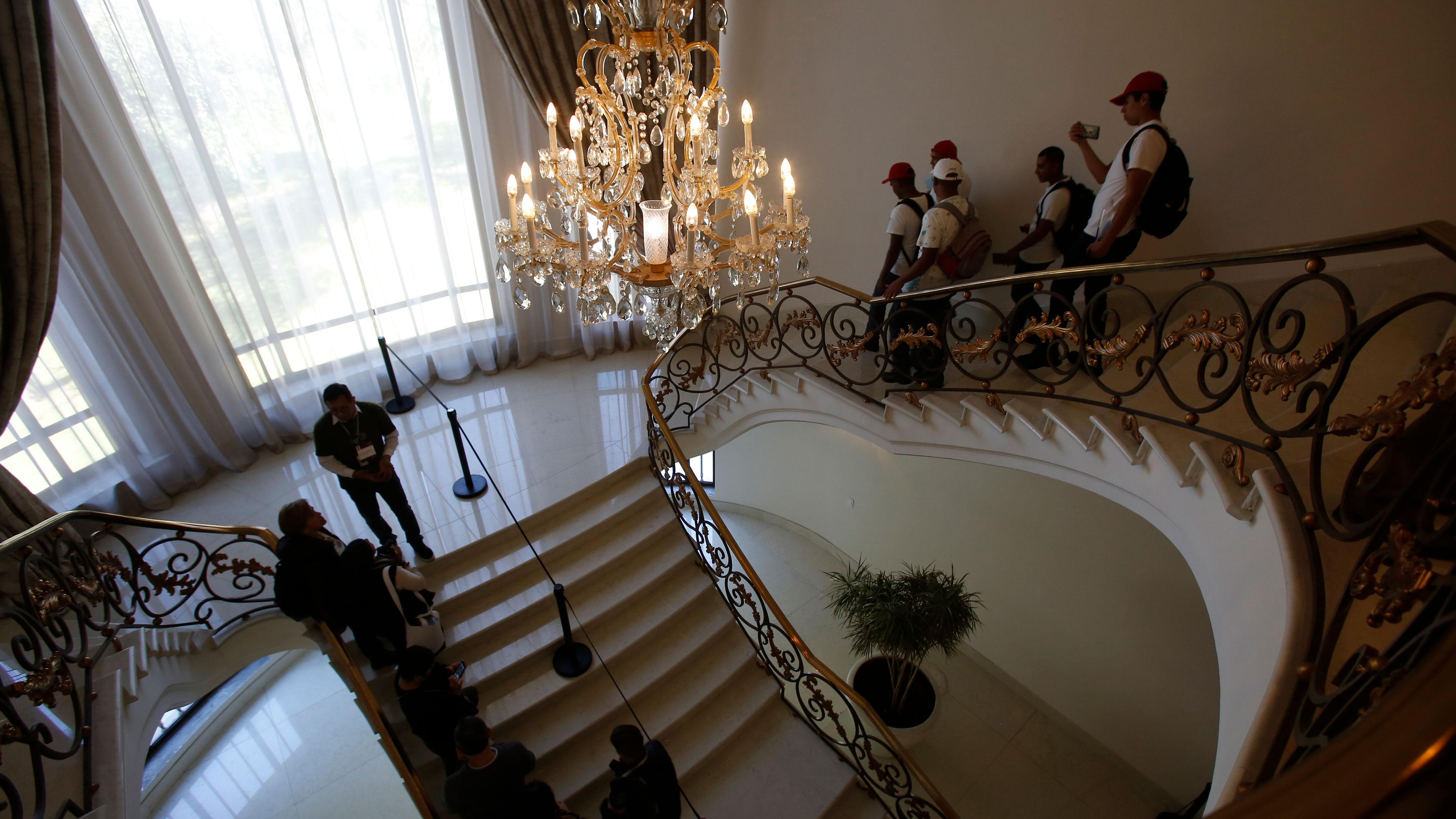 La residencia presidencial de Los Pinos