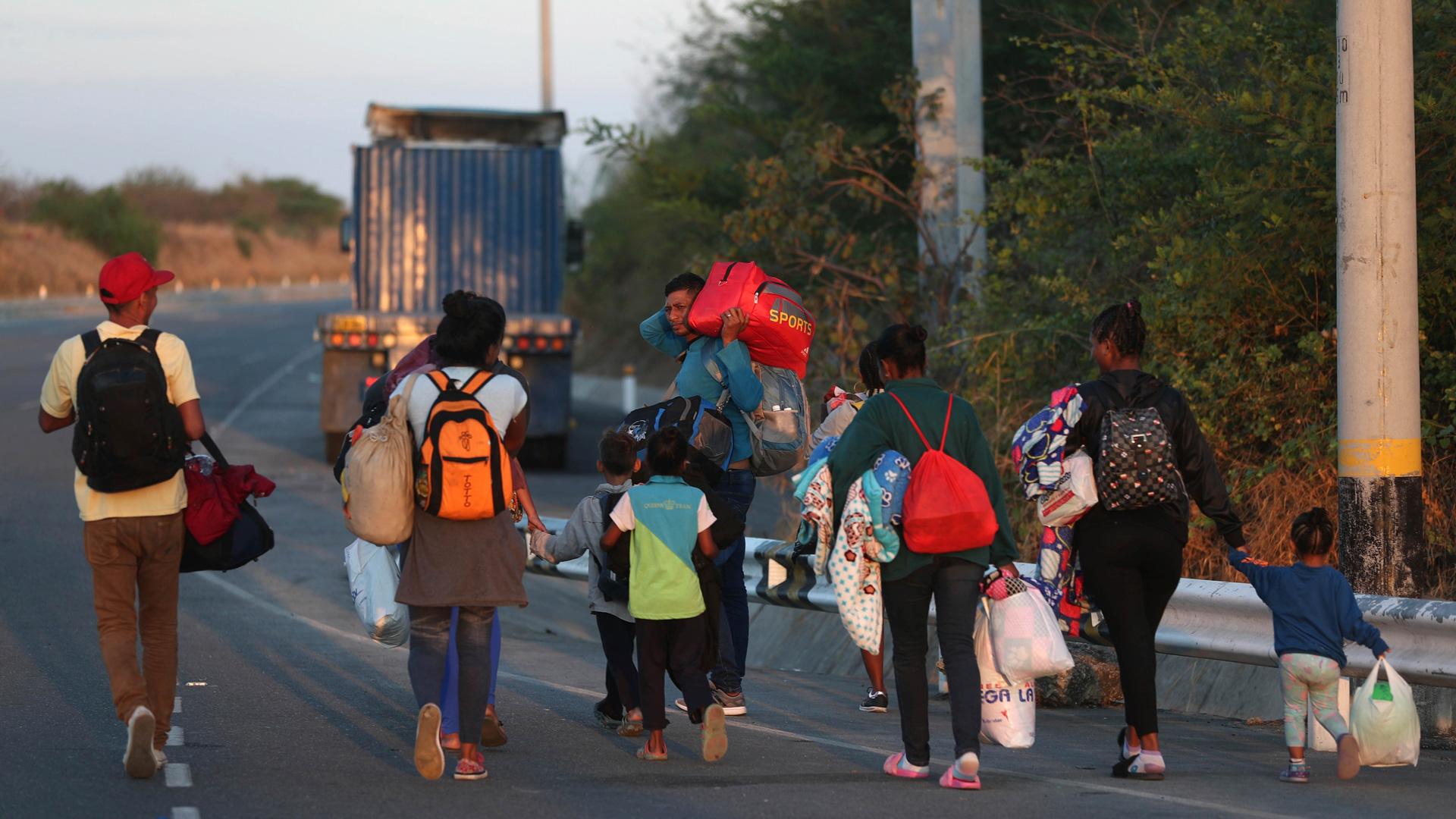 start barring venezuelan migrants - HD1920×1080