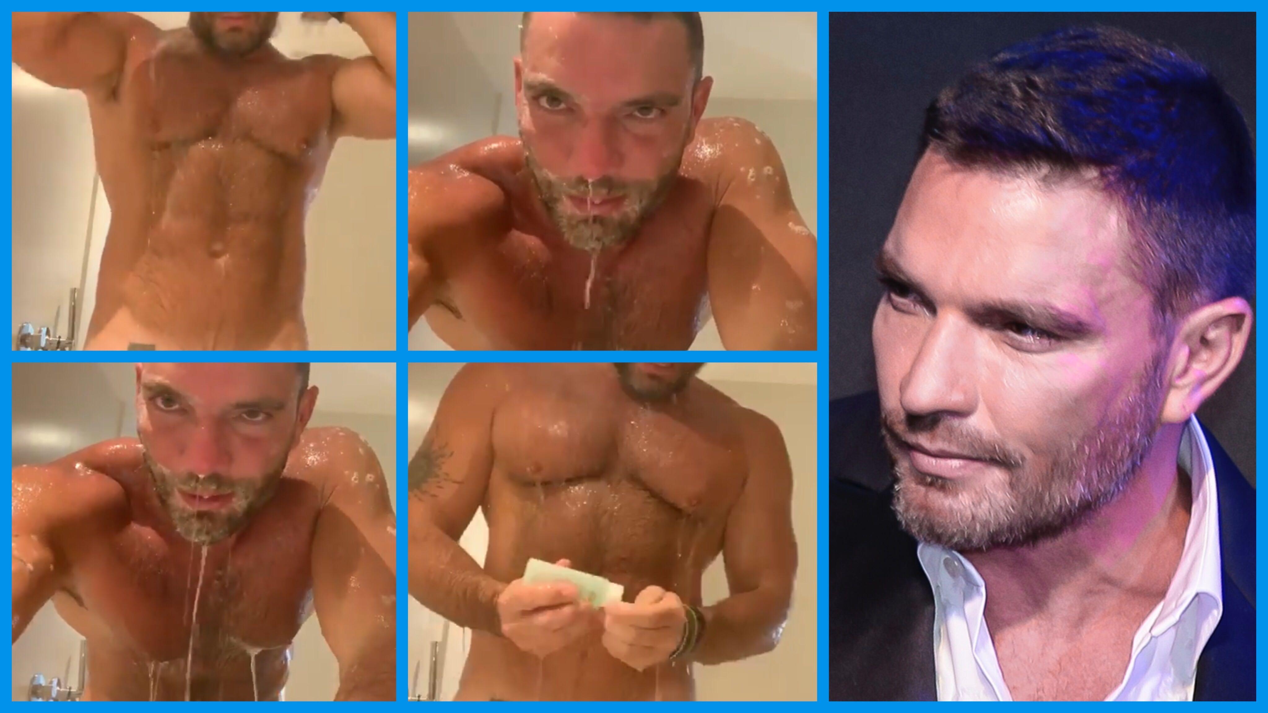 Anel Rodríguez Desnuda julián gil se graba desnudo en la regadera y revela con