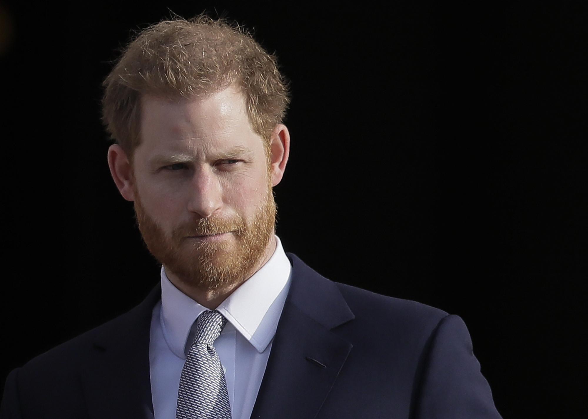 El príncipe Harry hace los primeros comentarios públicos sobre la decisión de retirarse de los deberes reales