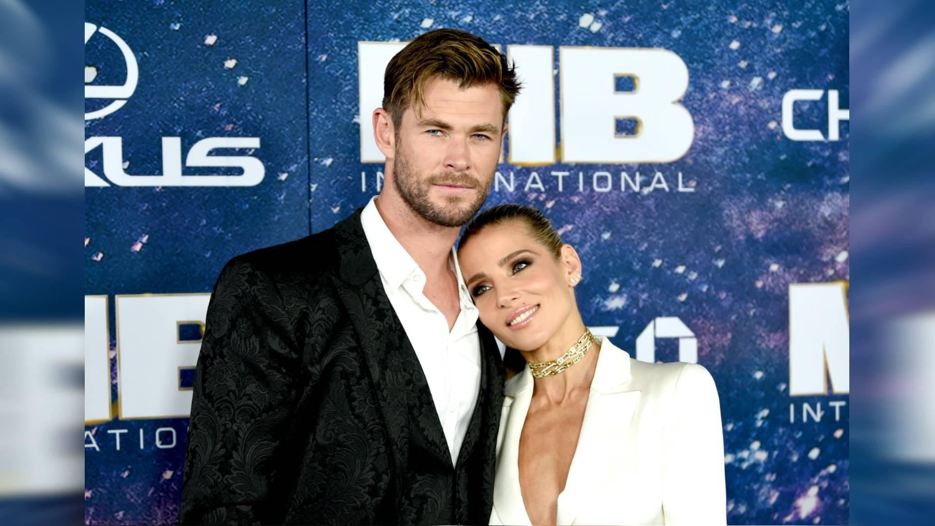 "Chris Hemsworth y Elsa Pataky, estreno ""Men in Black: International"""