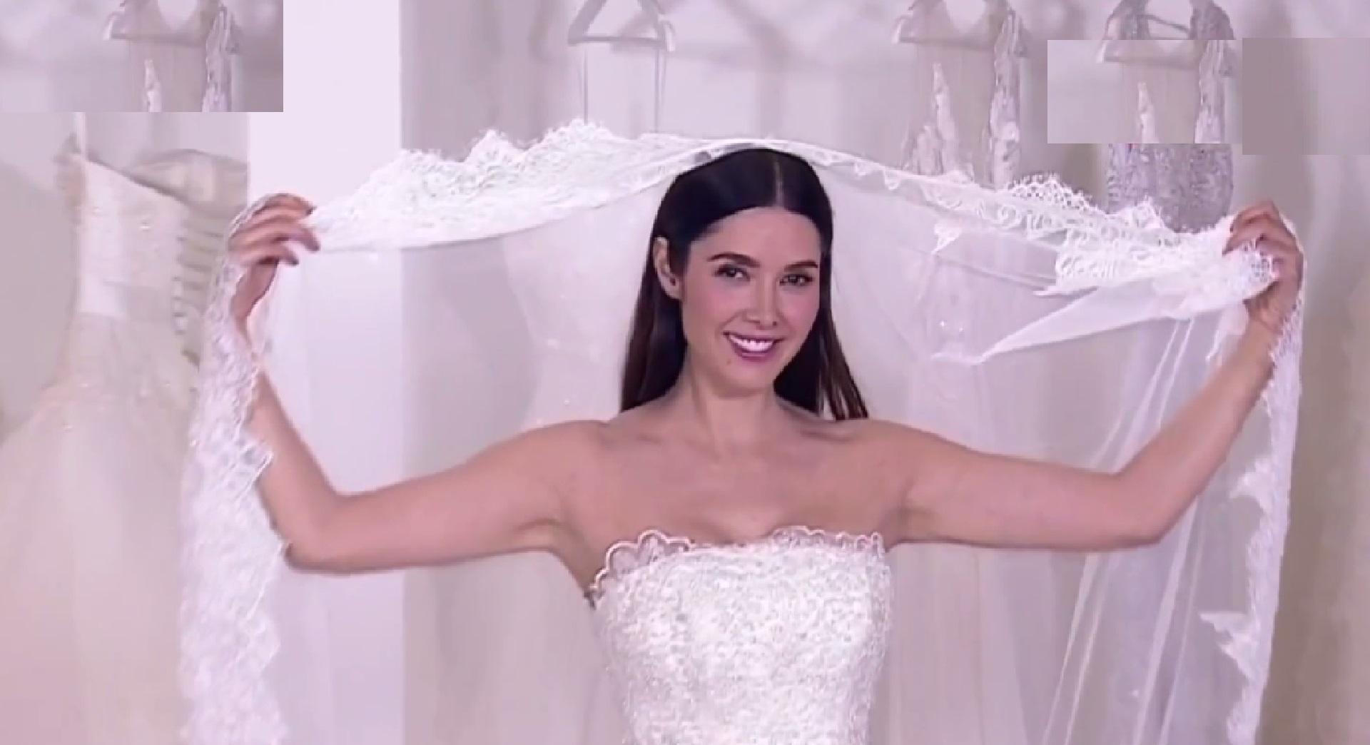 Ayudamos a Marlene Favela a elegir su vestido de novia | Telemundo