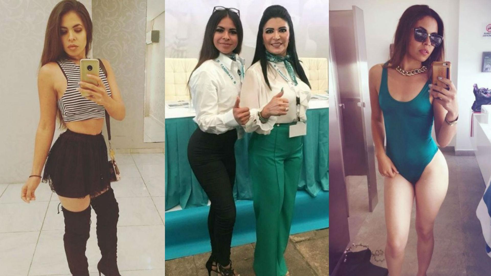 Ana Sofía Orellana más de uno votará por esta sexy candidata a diputada