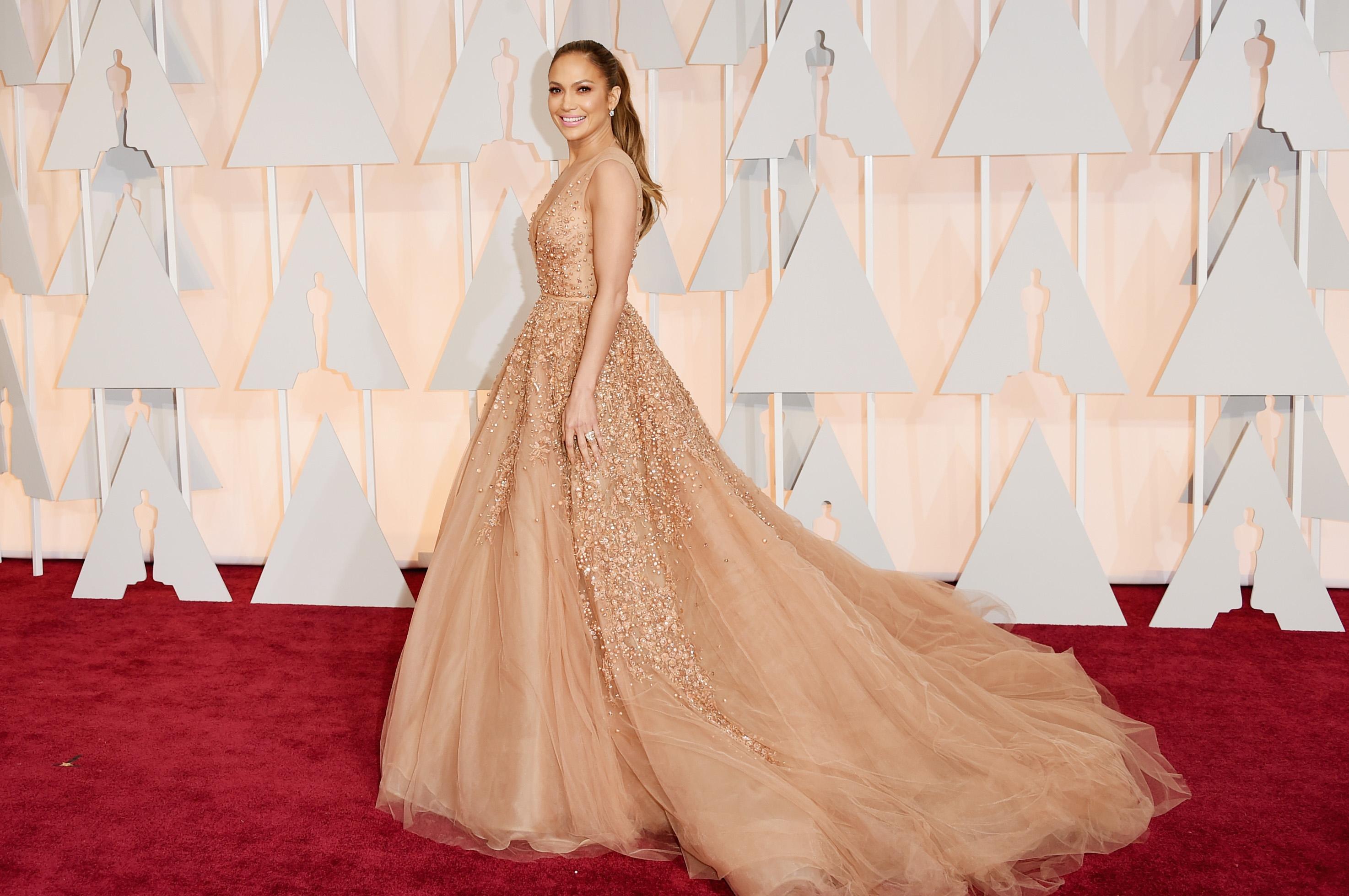Premios Oscar 2015 Jennifer Lopez Y Ms Famosas En La