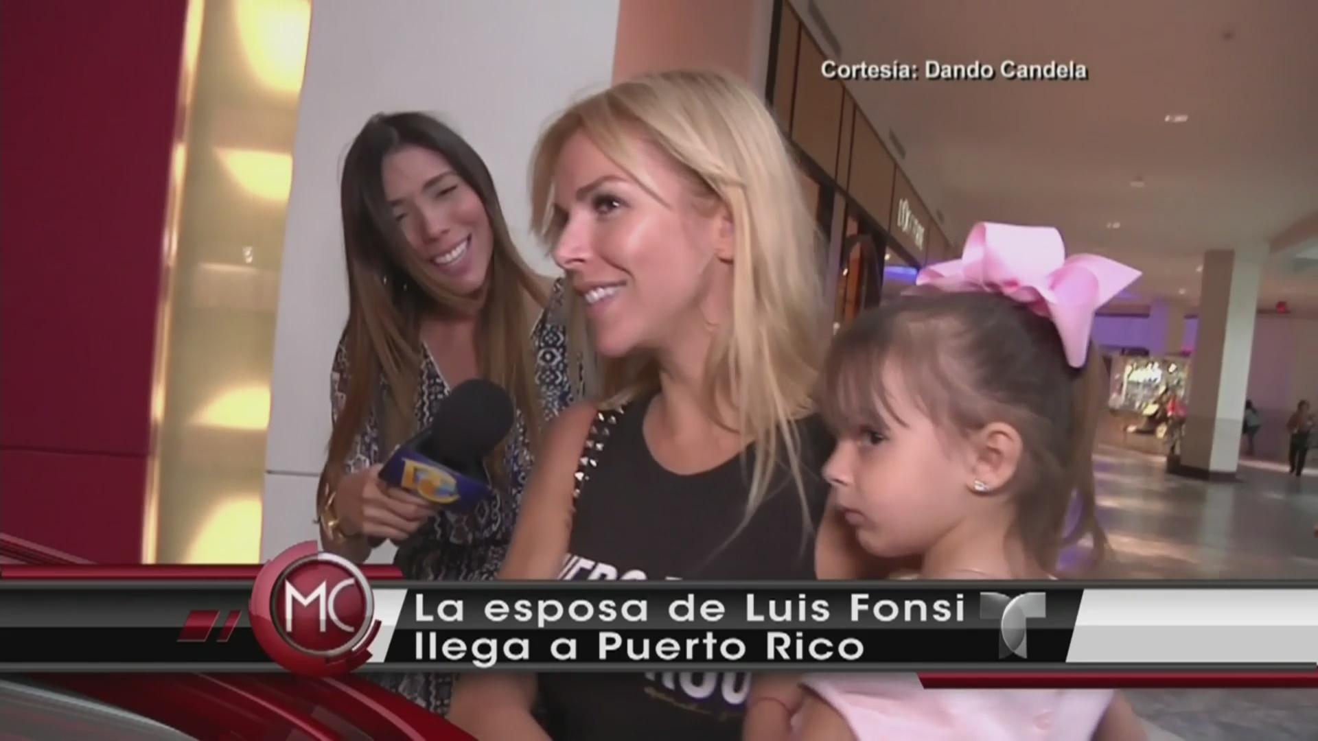 Águeda López apoya visita de su esposo a Adamari López (VIDEO ...