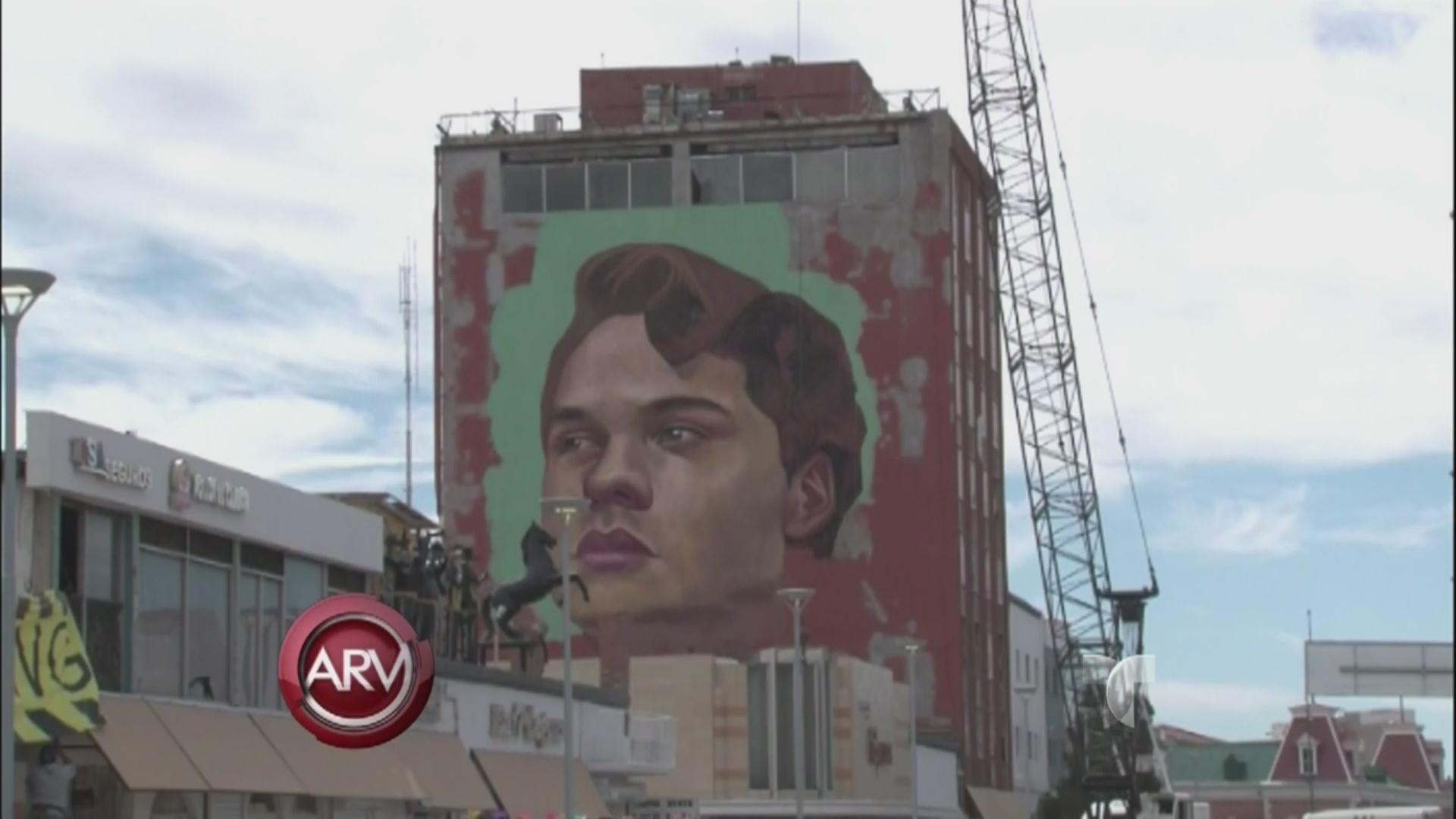 Mural Gigantesco Para Juan Gabriel En M Xico Video