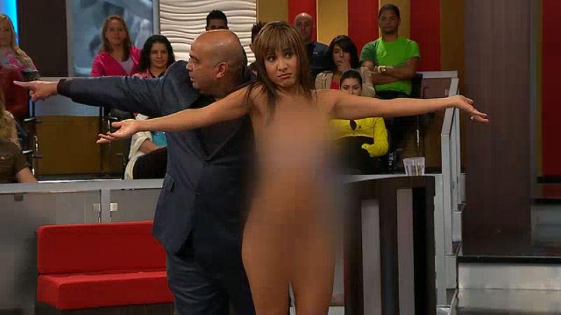 Mujer de limpieza desnuda y yo masturbandome parte 1 - 3 part 6
