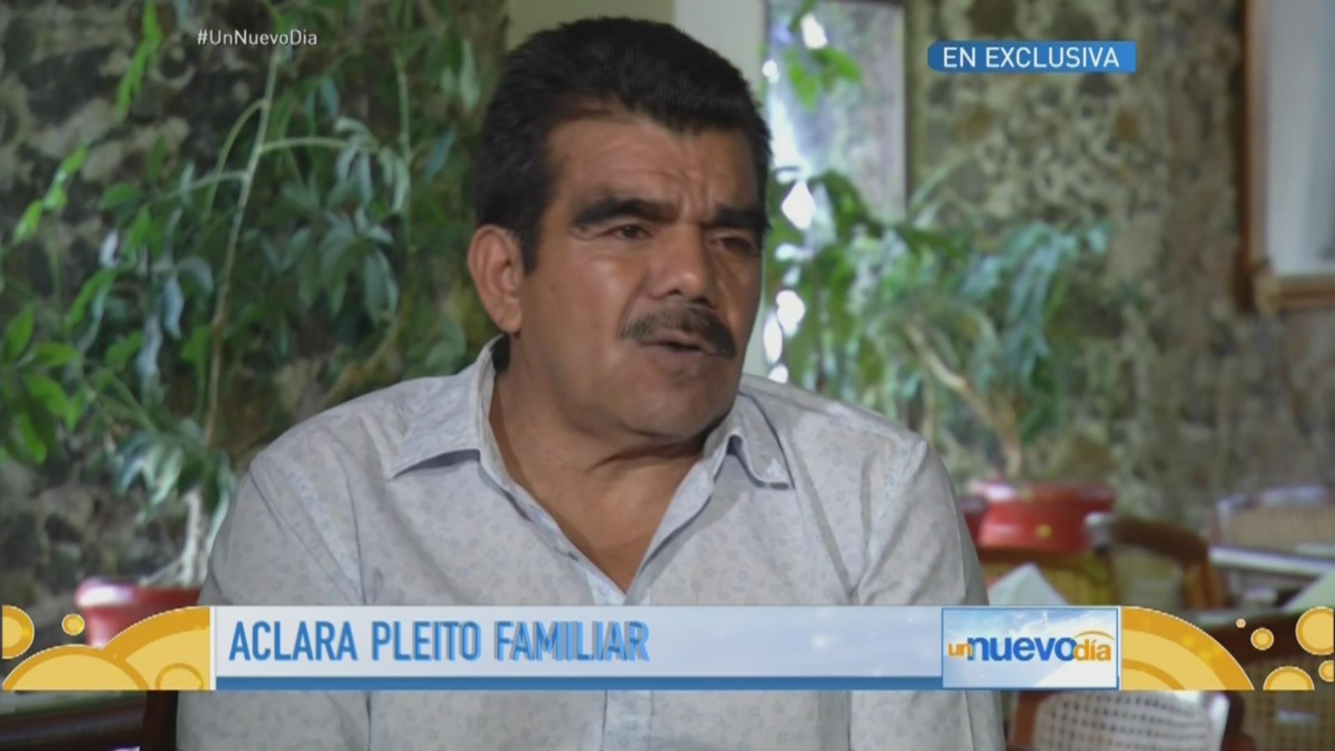 Marcos Figueroa, hermano de Joan Sebastian, aclara pleito familiar ...