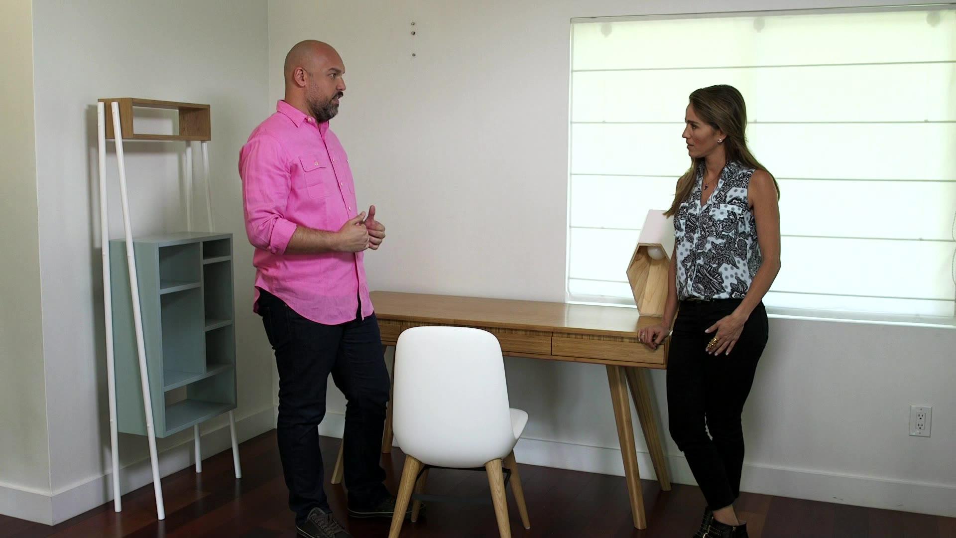 Sos Salva Mi Casa C Mo Decorar Una Sala Con Tem Tica Video  # Sos Muebles De Oficina
