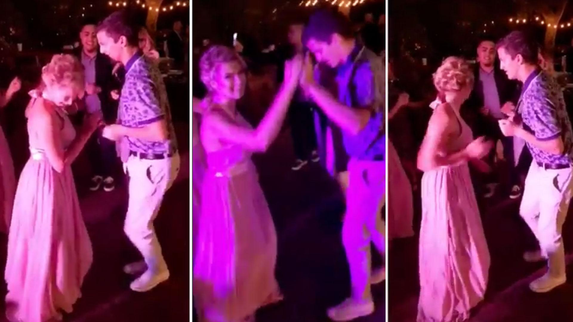 Esta cantante intentó bailar salsa al sexy ritmo de \