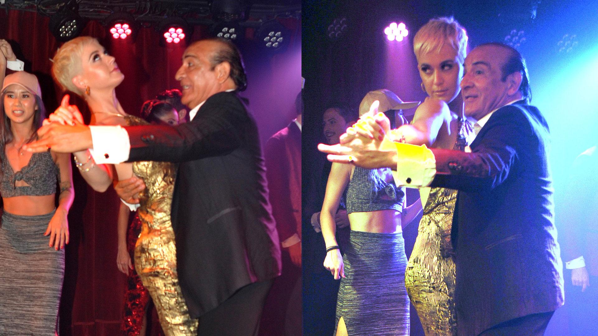 Katy Perry se dio una escapada en Argentina para bailar tango (VIDEO ...