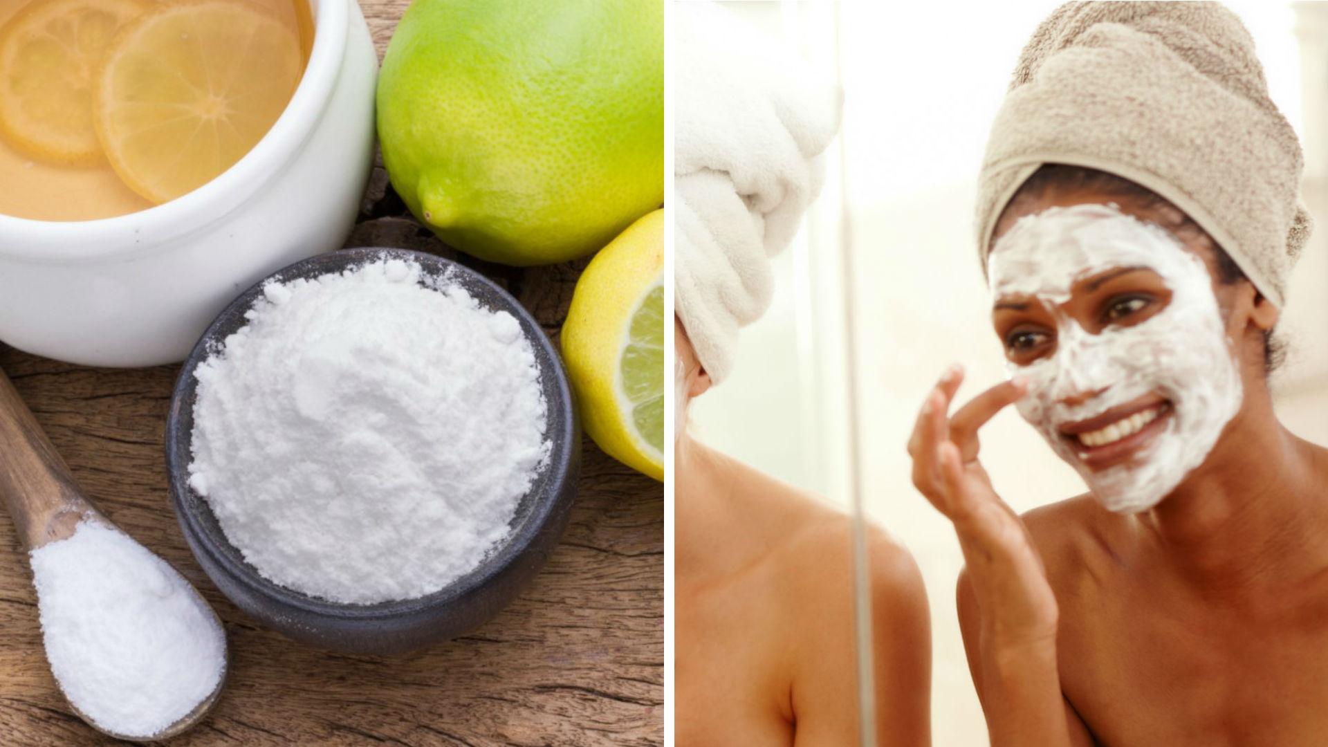Mascarillas de bicarbonato de sodio para combatir la piel grasosa