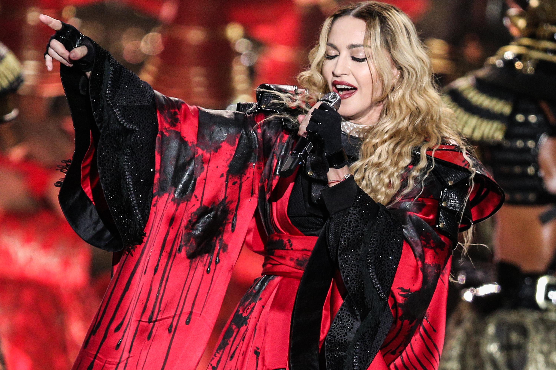 Мадонна певица с детьми фото 2018