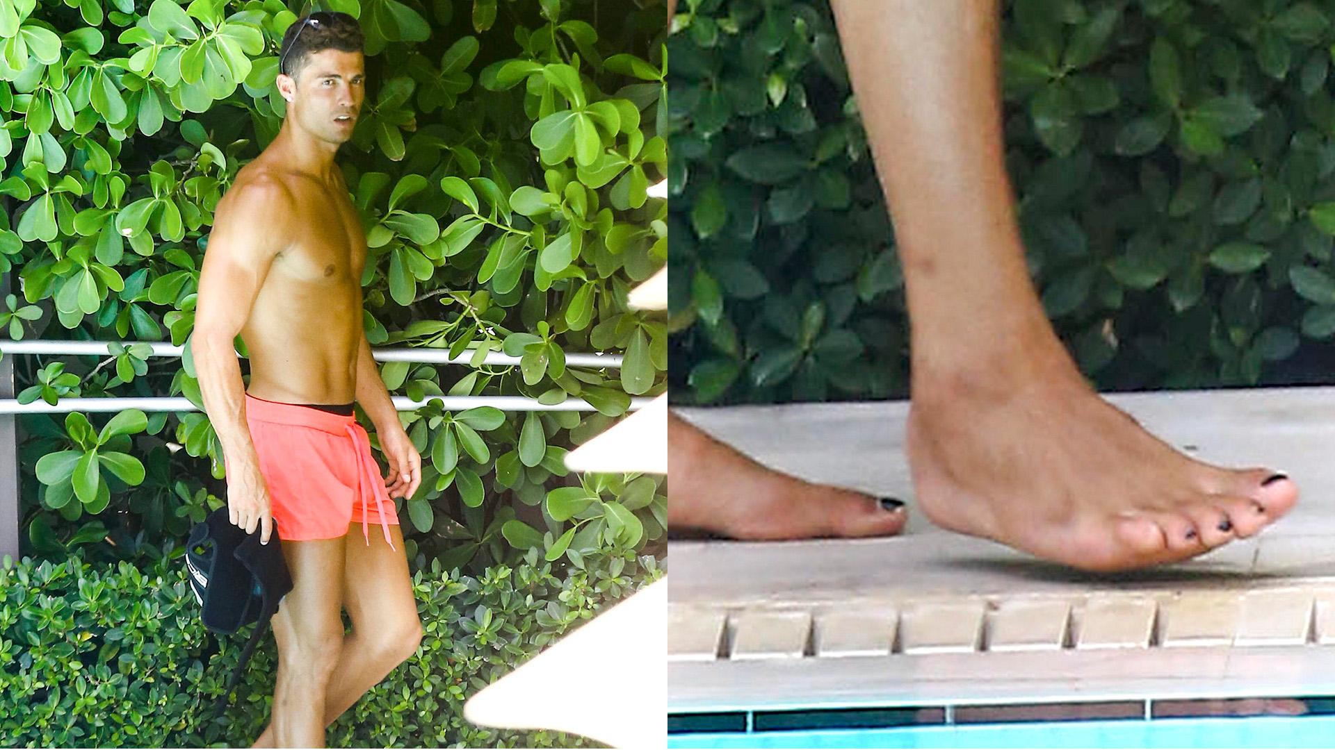 Las fotos de Cristiano Ronaldo con las uñas pintadas causan ...