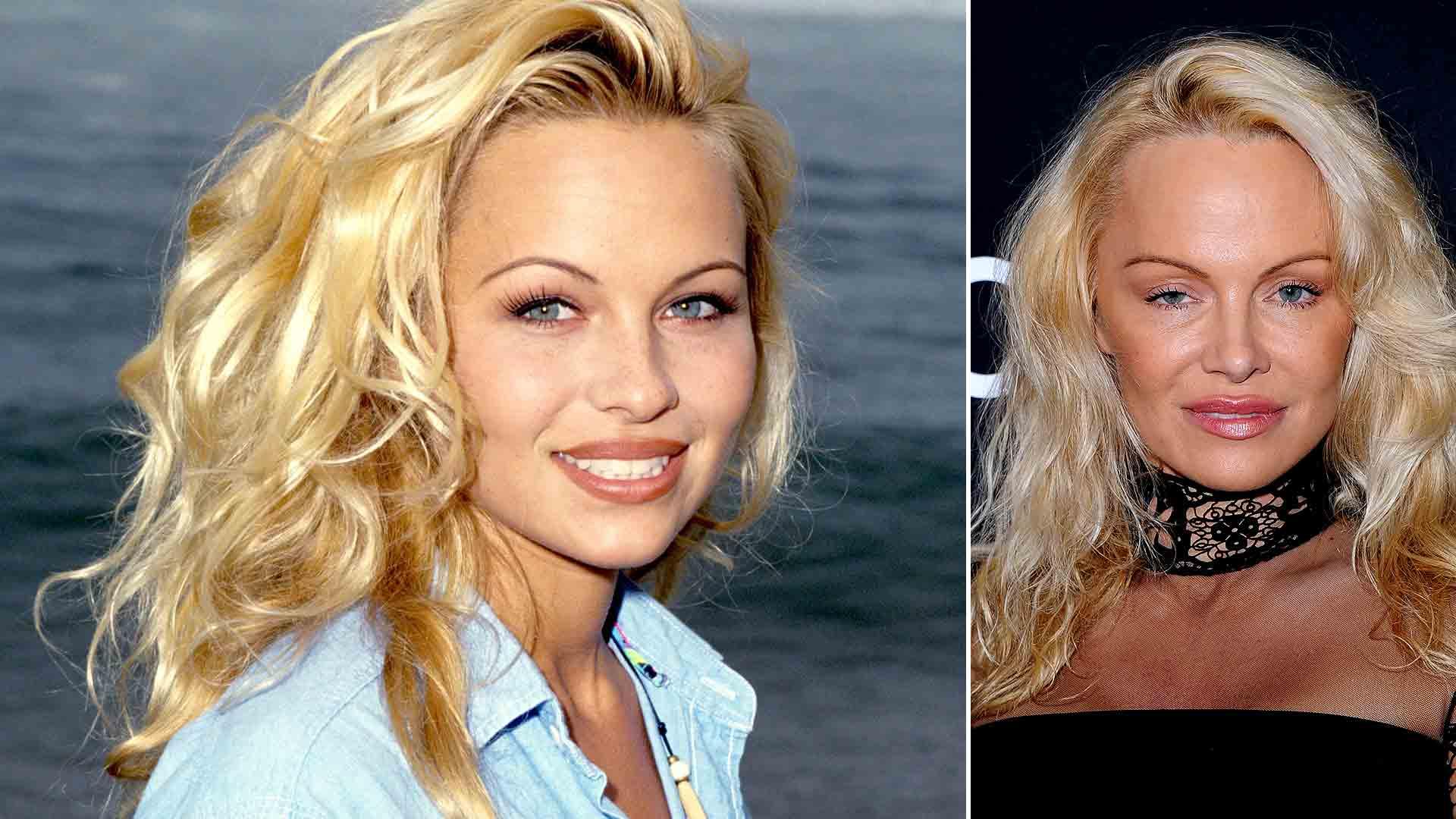 Pamela Anderson lució irreconocible en la gala benéfica de ... памела андерсон