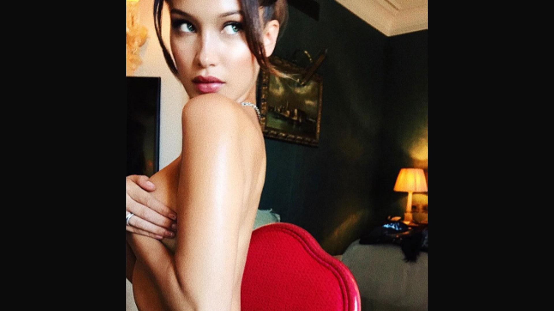Bella Hadid Se Desnudó En Su Habitación Y Compartió La Sexy Foto En