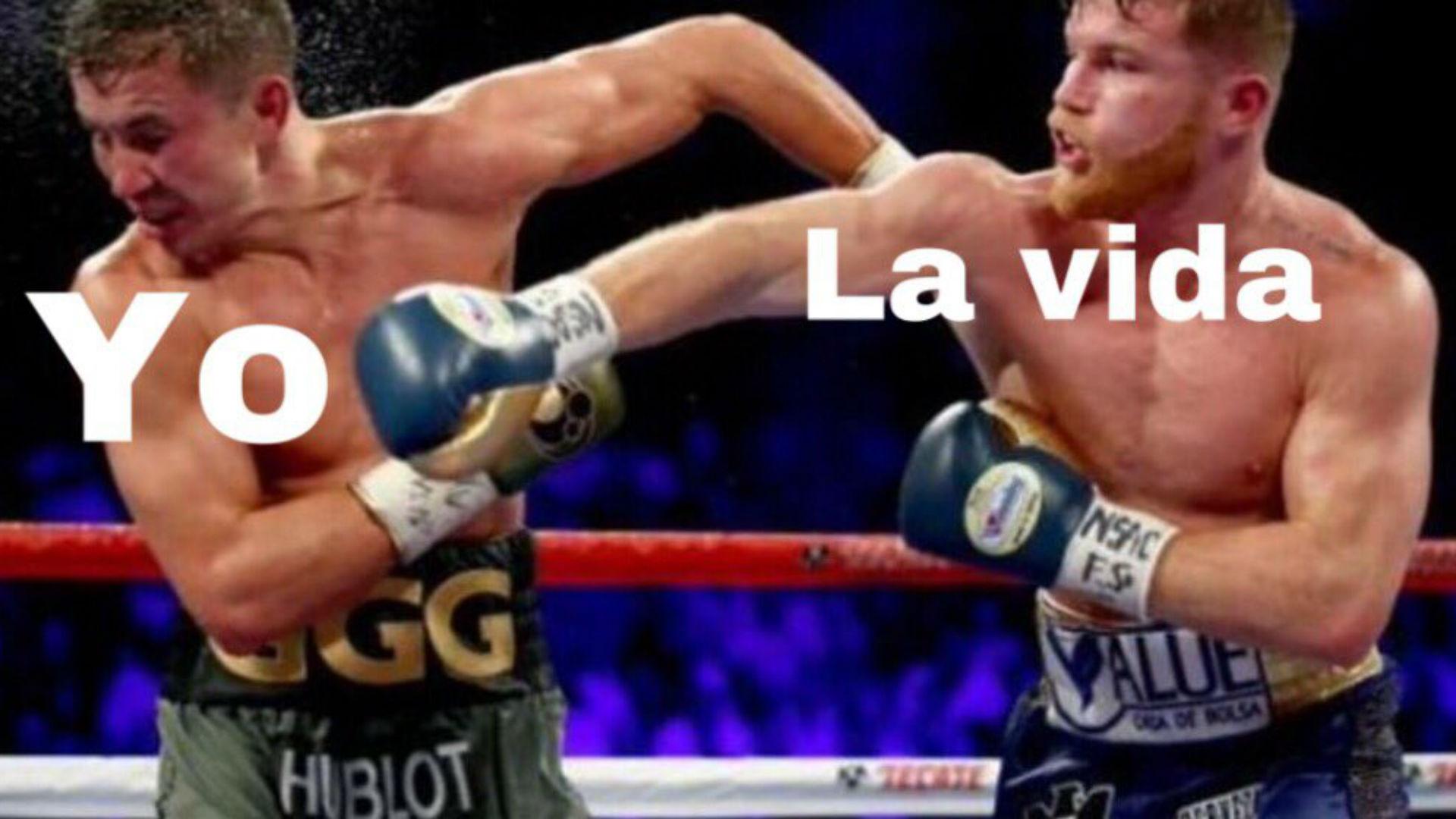 "Saúl ""Canelo"" Álvarez and Gennady Golovkin were found beating of memes (PHOTOS)"