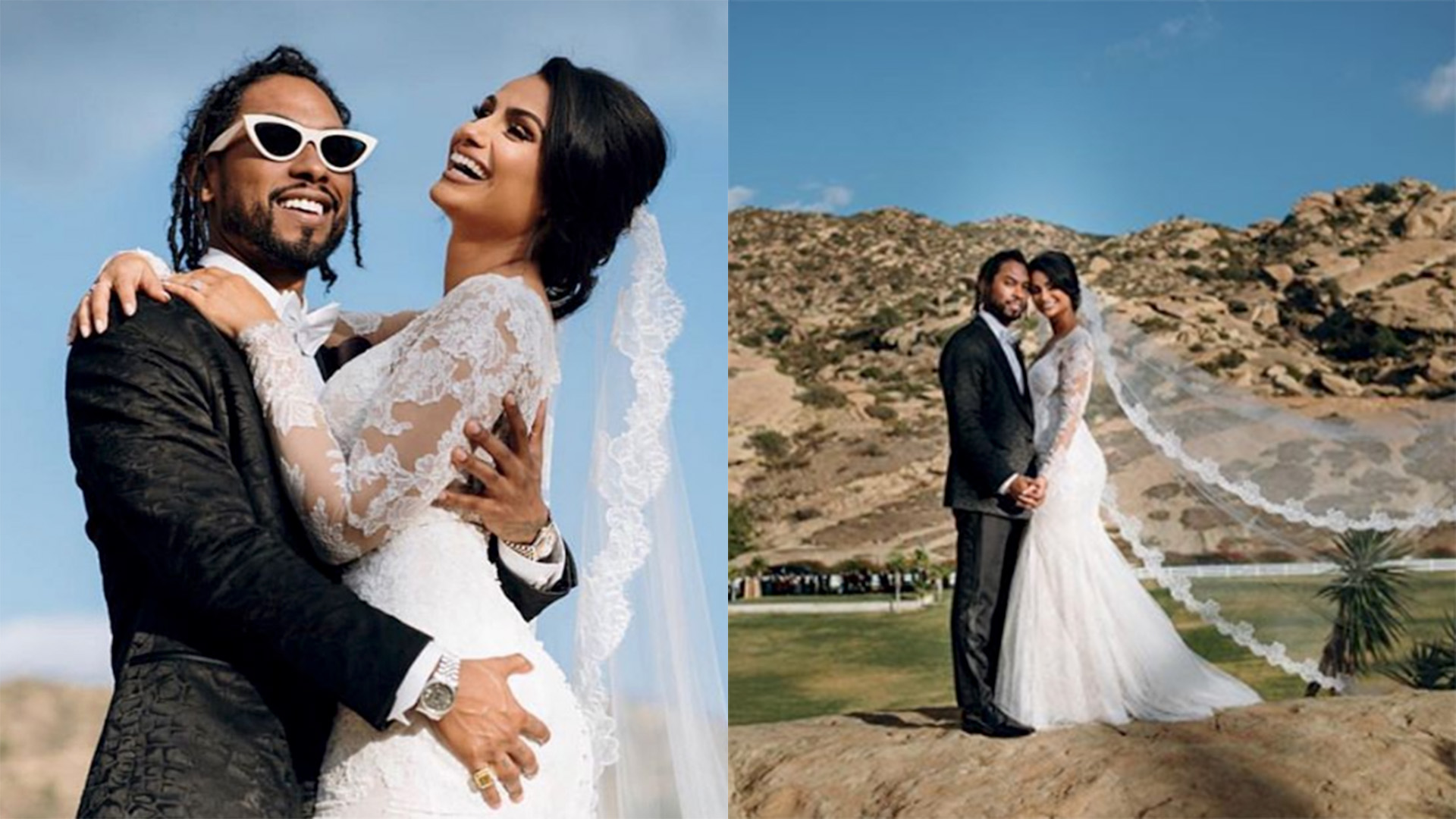 Image result for Miguel and Nazanin Mandi wedding photos