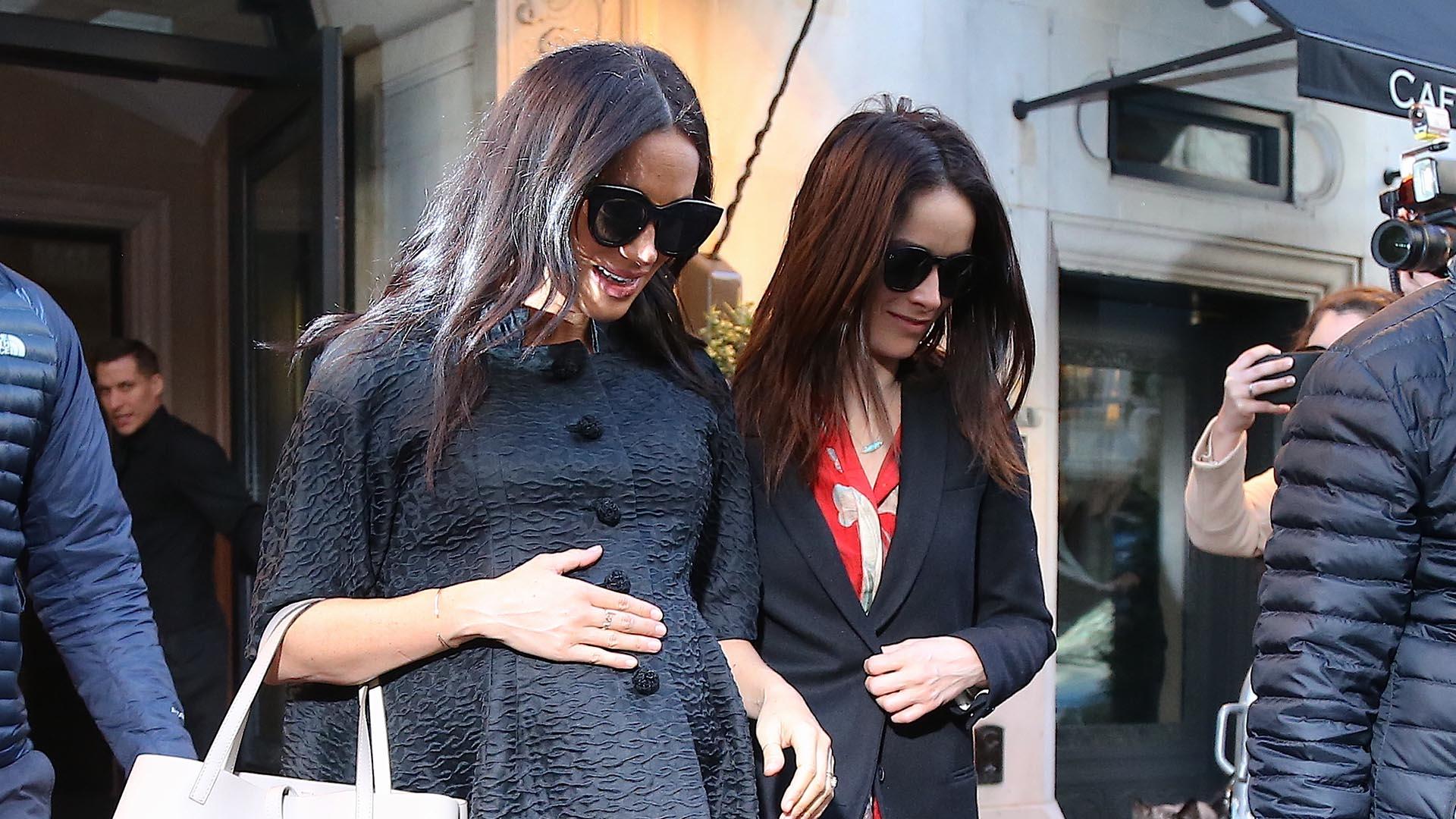 Meghan Markle se encuentra en Nueva York para celebrar su baby shower