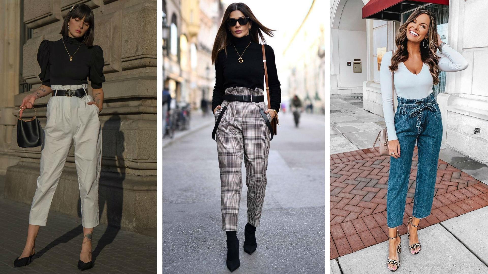 Paper Bag Los Pantalones De Moda Que Te Hacen Perder Una Talla Al Instante