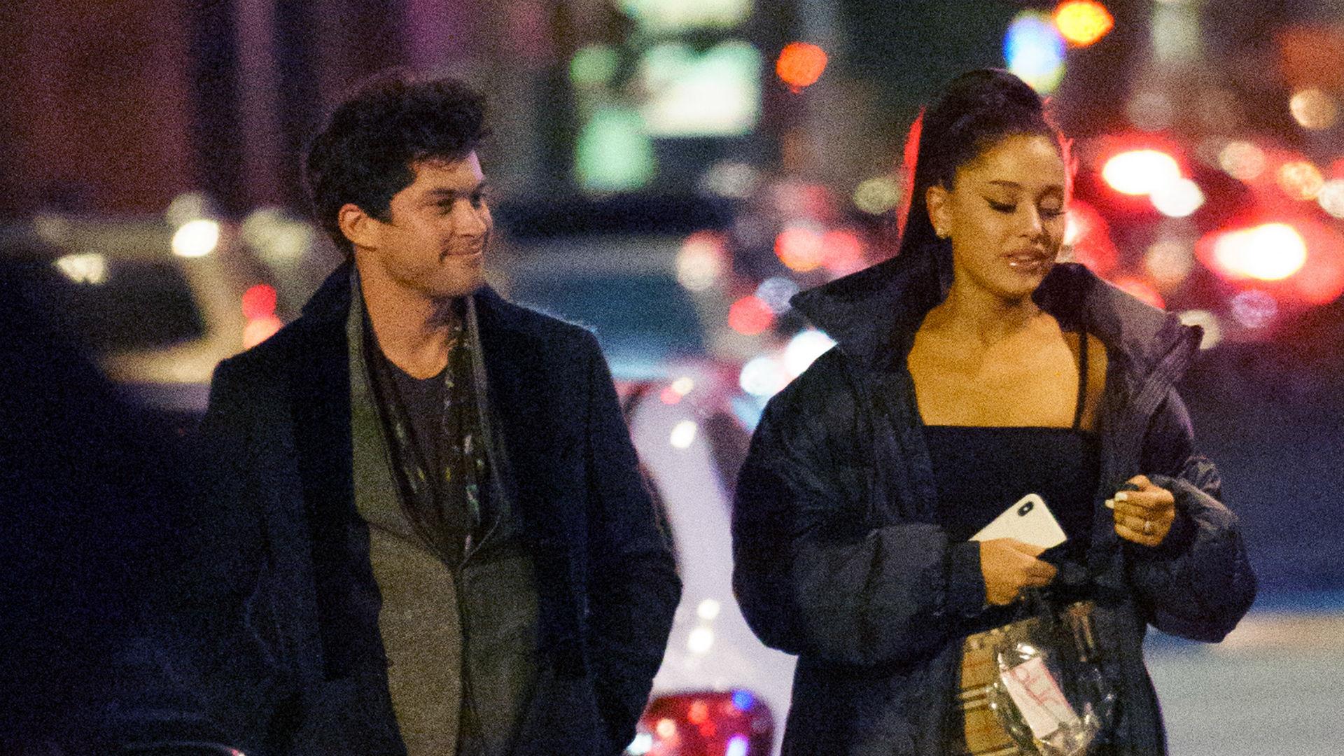 Ariana Grande salió a cenar con su exnovio Graham Phillips (FOTOS ...