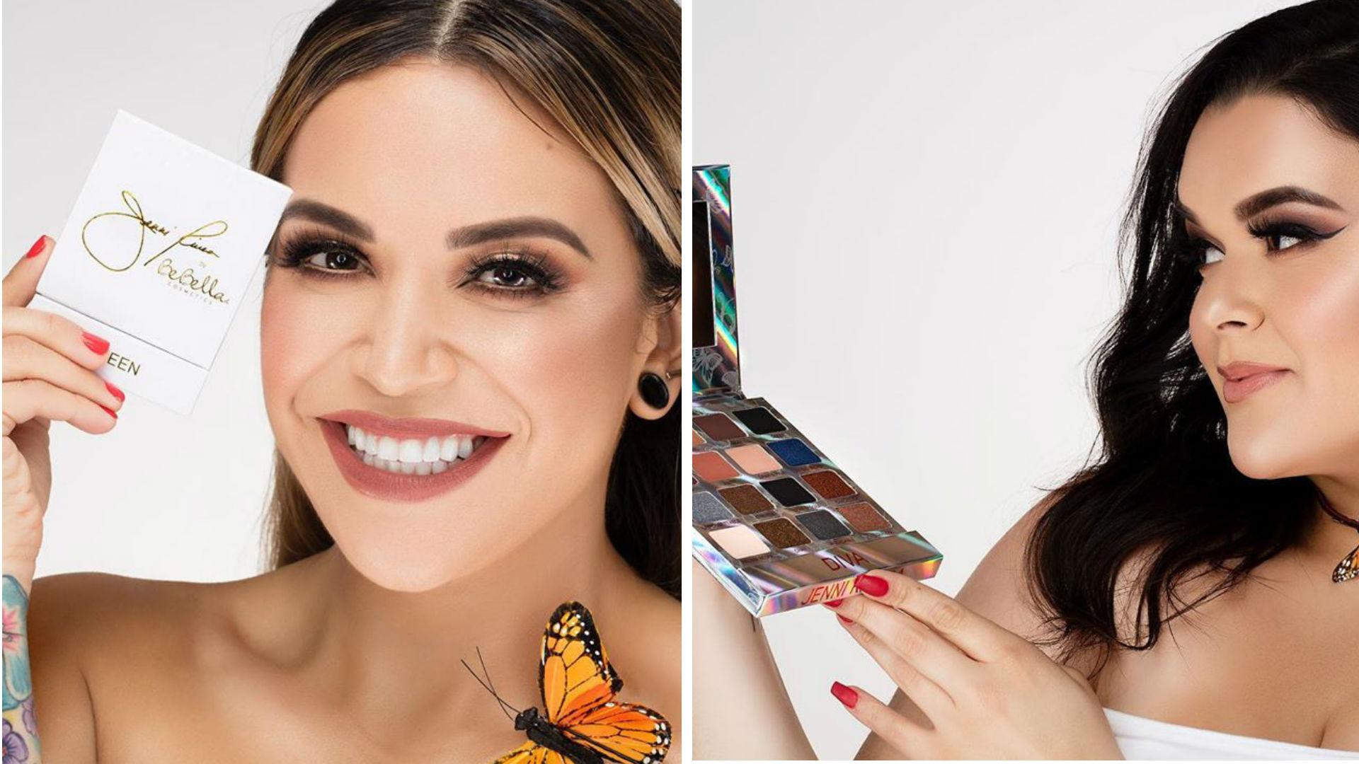 Jenni Rivera Makeup Line Divina