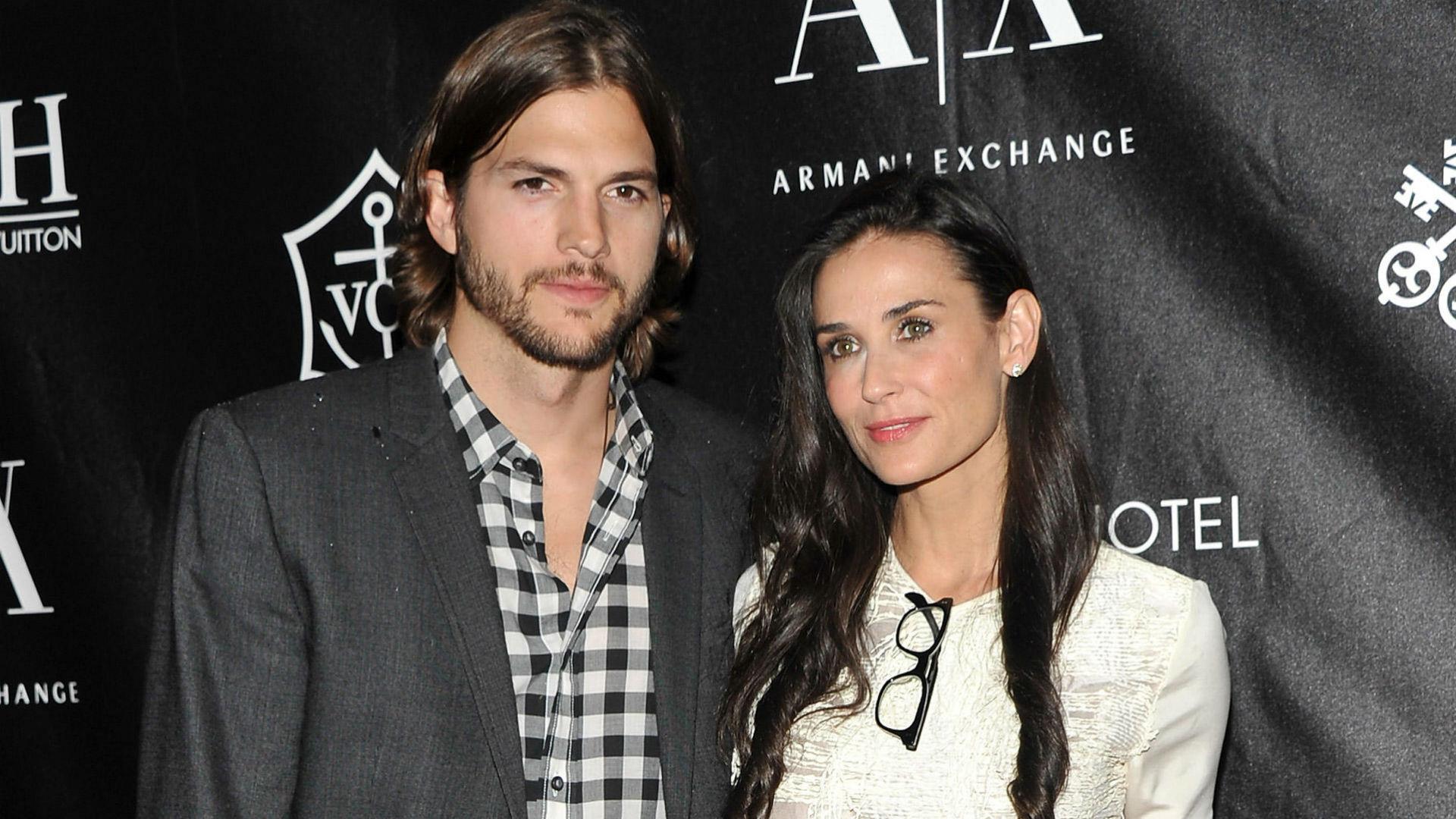Demi Moore sufrió un aborto durante su matrimonio con Ashton Kutcher