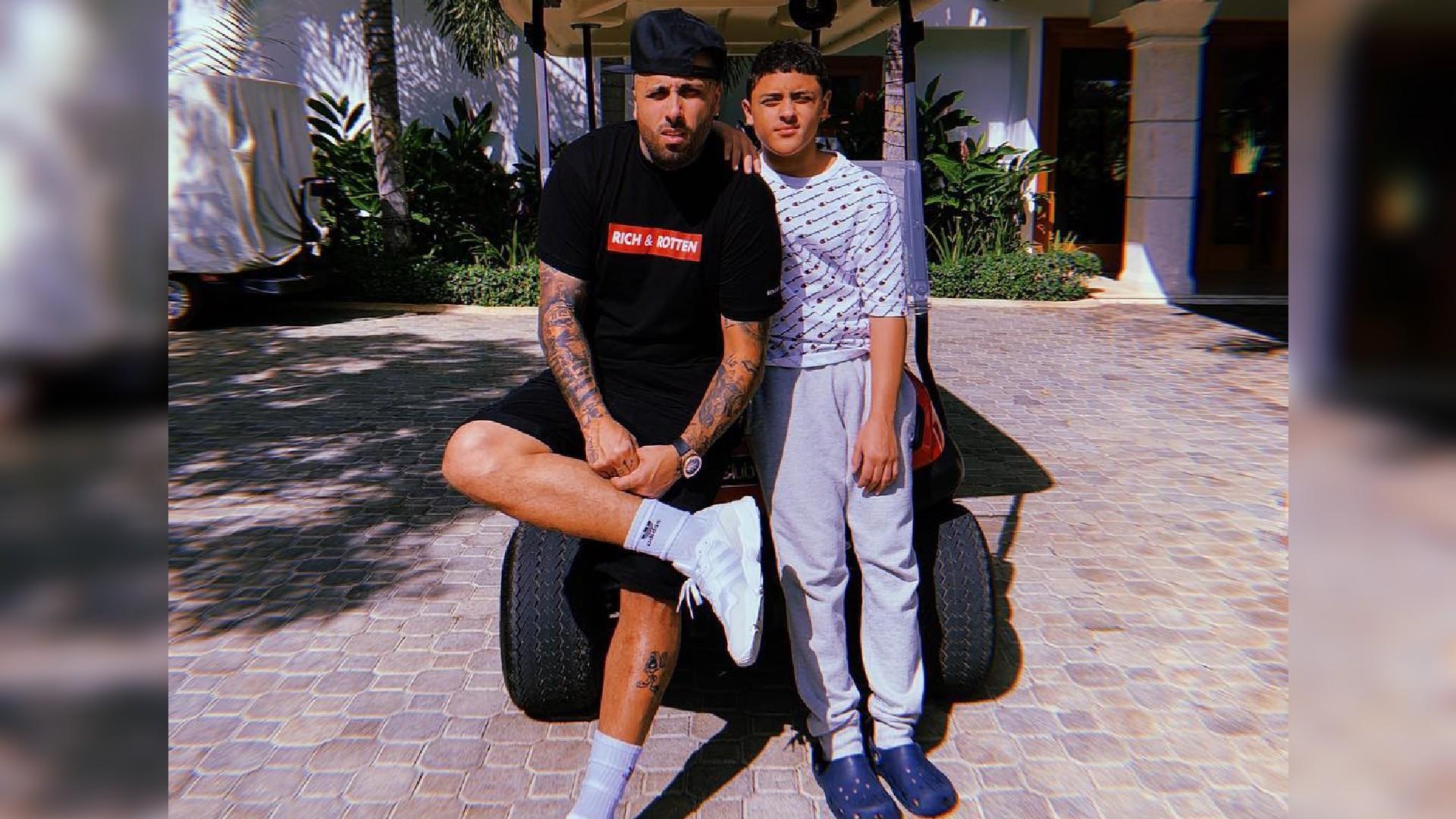 Nicky Jam: Así de grande está Joe Martin, su único hijo varón ...