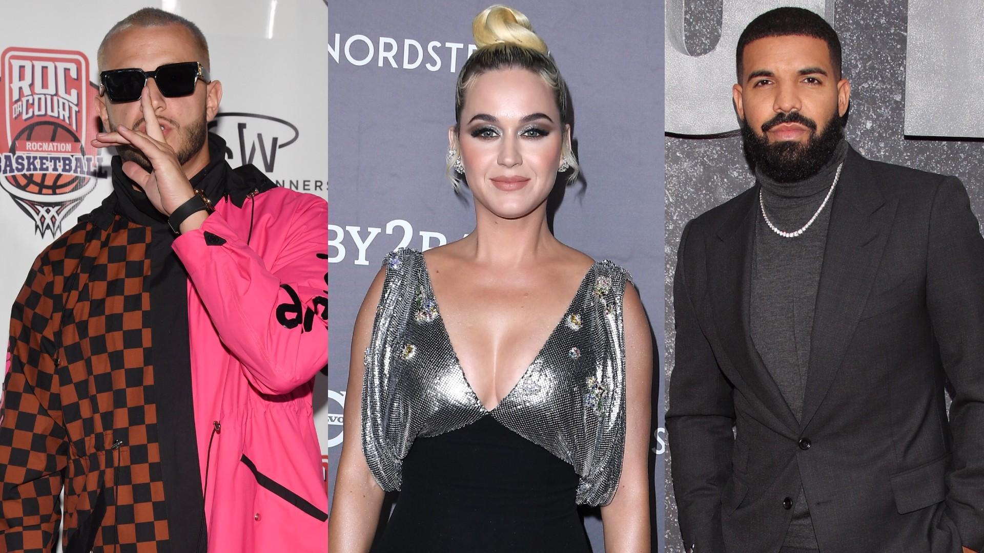 DJ Snake, Katty Perry, Drake