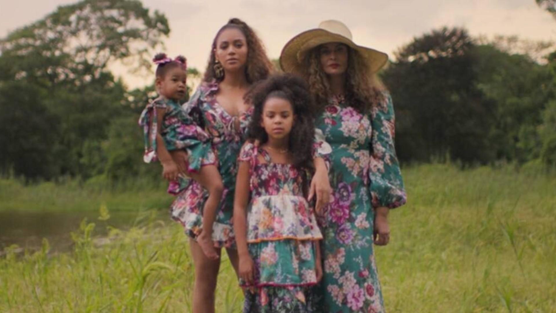 Beyoncé y Blue Ivy Carter en Black Is King