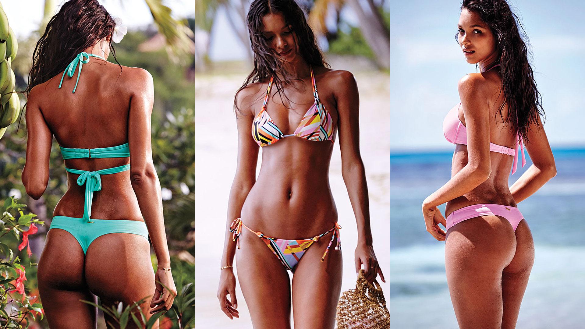 Brazlian model Lais Ribeiro Strikes a Pose For Victorias  : lais ribeiro from www.telemundo.com size 1920 x 1080 jpeg 410kB