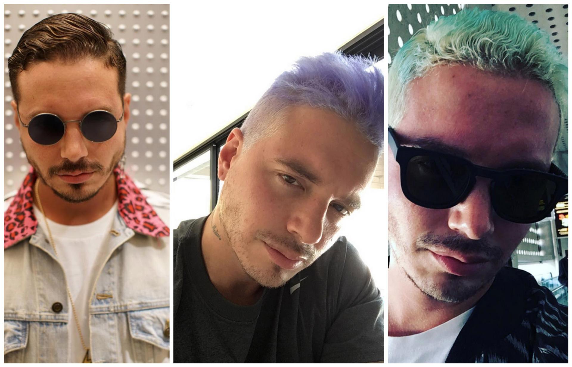 J balvin es todo un adicto a cambiarse el color de cabello for Piso 21 instagram