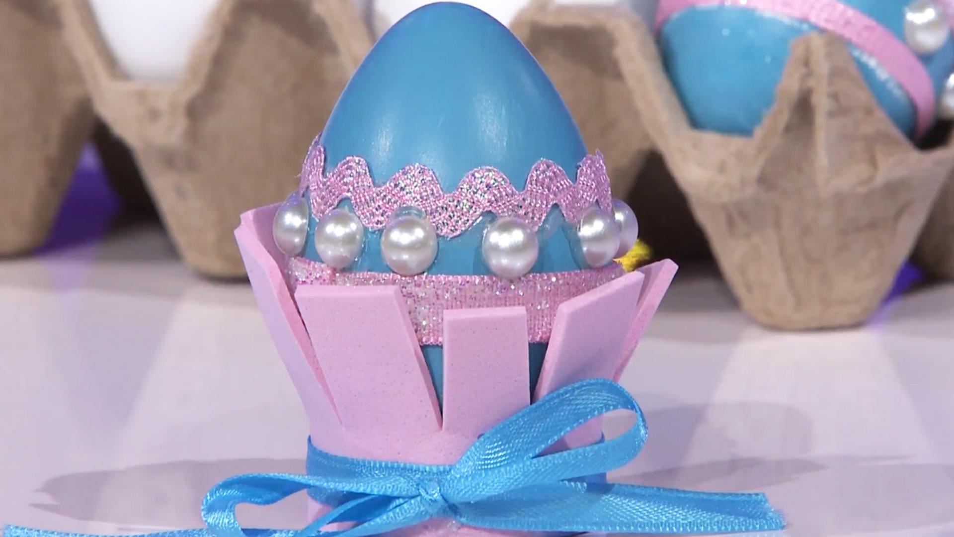 Hazlo Tú Misma Decora Huevos De Pascua Al Estilo Princesa