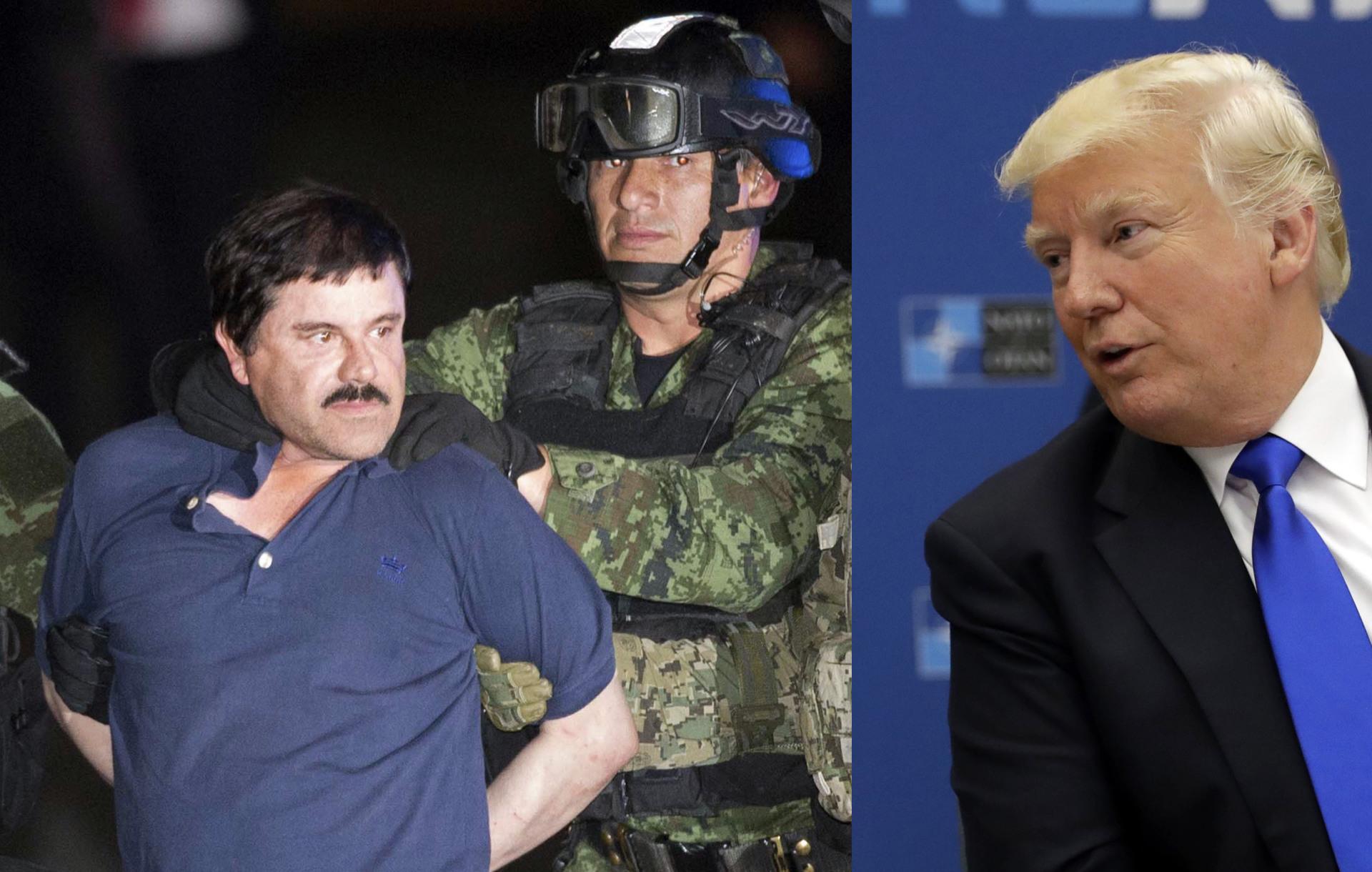 Le pide a Donald Trump que se apiade de El Chapo Guzmán