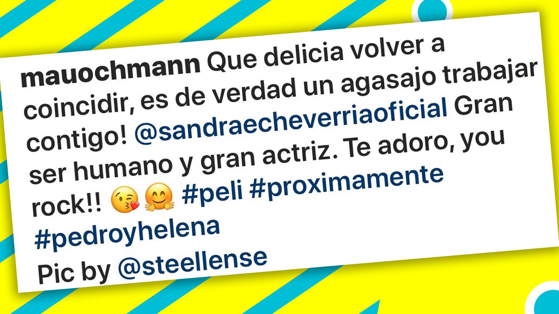 Sandra Echeverría responde furiosa a rumores de romance con Mauricio Ochmann