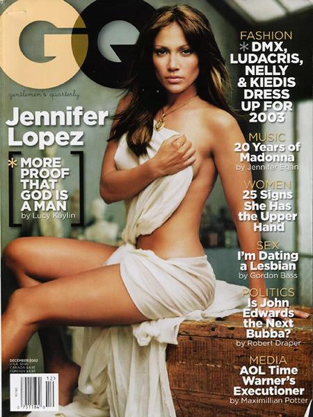 Desnudos en portadas de revistas: Jennifer Lopez, Britney Spears y más (FOTOS)