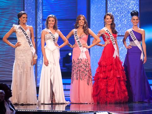El Miss Universo ya escogi a sus cinco finalistas Fotos Diario 58