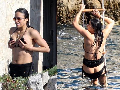 VIDEO: Michelle Rodriguez se desnuda en redes