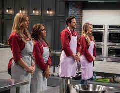 Las estrellas en la deliberación de Top Chef