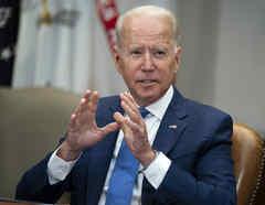 El presidente Joe Biden