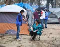 Ilusión en campamento migrante del norte de México con nuevo censo para asilo