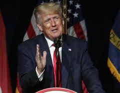 El expresidente Donald Trump
