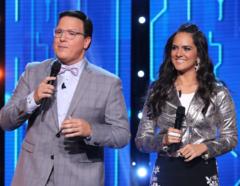 Raúl Gonzalez y Ana Lorena en Gran Oportunidad