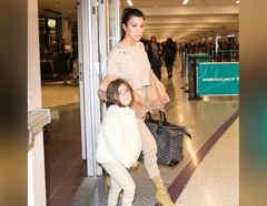 Kourtney Kardashian y su hija Penelope