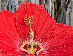 Madison Anderson, Miss Universo Puerto Rico 2019, presentó su traje típico