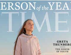 Greta Thunberg presona del año de la revista Time